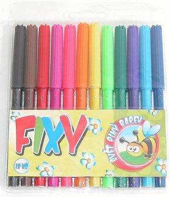 Fixy - 12 ks - neuveden