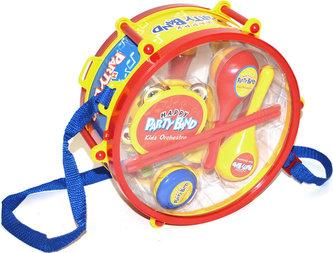 Dětský buben + set nástrojů (27 cm)