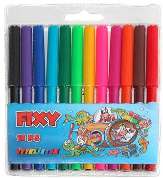 Čtyřlístek fixy- 12 ks