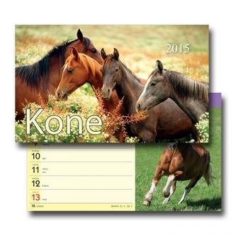 Koně - stolní kalendář 2015
