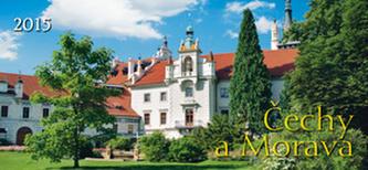 Čechy a Morava - stolní kalendář 2015