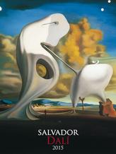 Salvador Dalí - nástěnný kalendář 2015