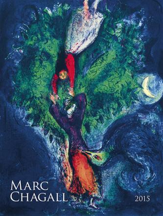 Chagall - nástěnný kalendář 2015