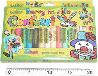 Barvy na sklo - Confetti
