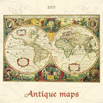 Antique maps - nástěnný kalendář 2015