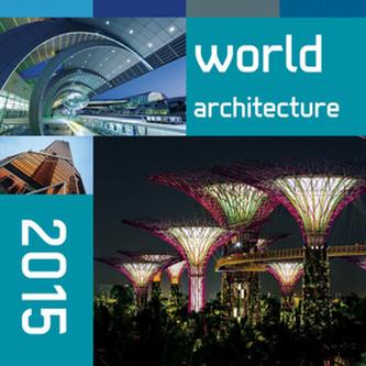 World architecture - nástěnný kalendář 2015