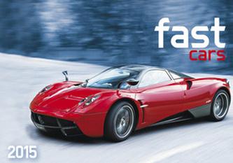 Fast cars - nástěnný kalendář 2015