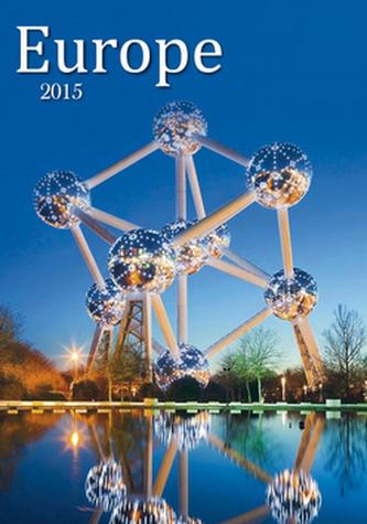 Europe - nástěnný kalendář 2015