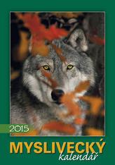 Myslivecký kalendář - nástěnný kalendář 2015