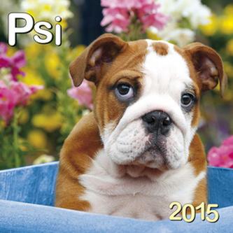 Psi - nástěnný kalendář 2015