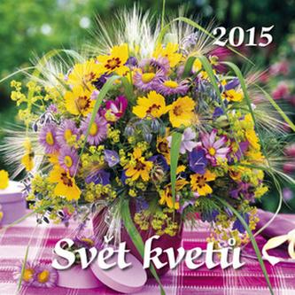 Svět květů - nástěnný kalendář 2015