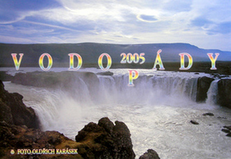 Vodopády 2005 - nástěnný kalendář