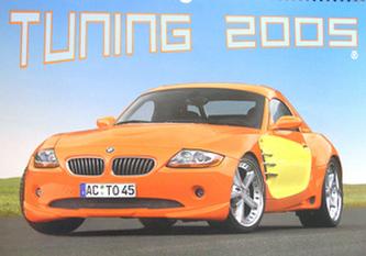 Tuning 2005 - nástěnný kalendář