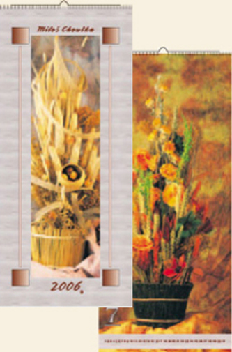 Suché květiny 2006 - nástěnný kalendář