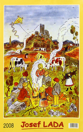 Josef Lada U ohníčku 2008 - nástěnný kalendář
