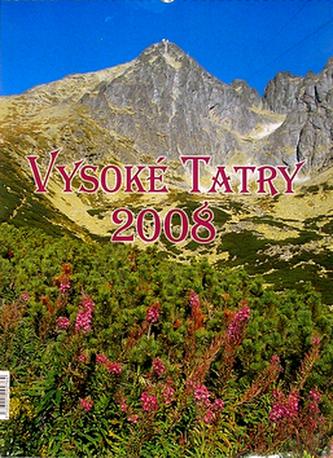 Vysoké Tatry 2008 - nástěnný kalendář