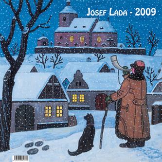 Josef Lada Zima 2009 - nástěnný kalendář