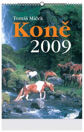 Koně 2009 - nástěnný kalendář