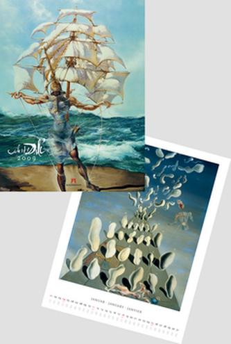 Salvador Dalí 2009 - nástěnný kalendář