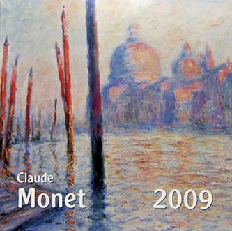 Claude Monet 2009 - nástěnný kalendář