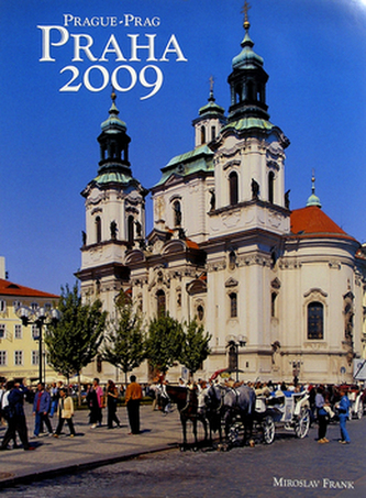 Praha 2009 - nástěnný kalendář