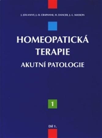 Homeopatická terapie – 1. díl
