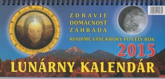 Lunárny kalendár na rok 2015 - stolový kalendár