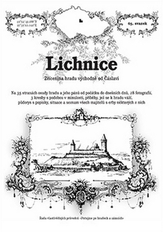 Lichnice - zřícenina hradu východně od Čáslavi