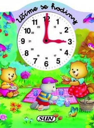 Učíme se hodiny - pěnová kniha