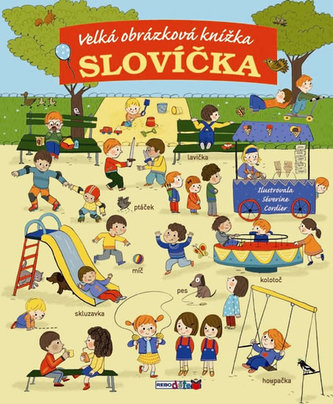 Slovíčka - Moje první velká obrázková knížka
