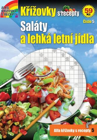 Křížovky s recepty 5 - Saláty a lehká letní jídla
