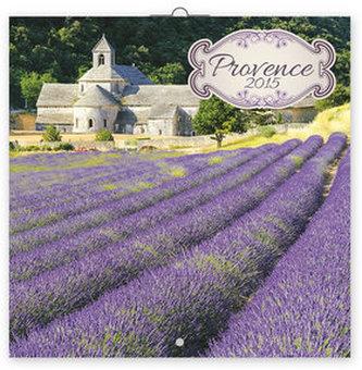 Provence voňavý - nástěnný kalendář 2015