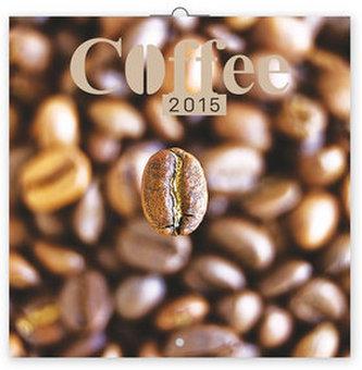 Káva voňavý - nástěnný kalendář 2015