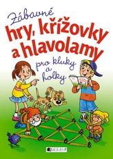 Zábavné hry, křížovky a hlavolamy pro kluky a holky