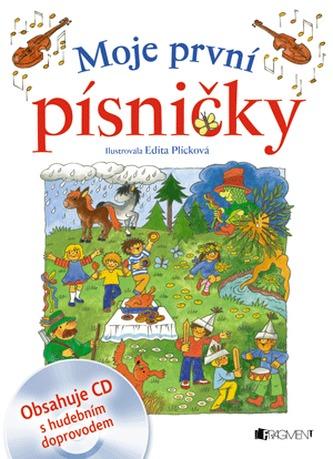 Moje první písničky + CD - Edita Plicková