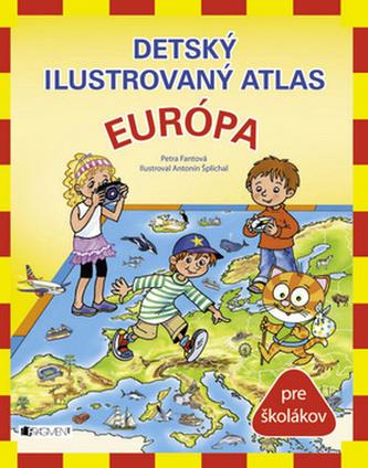 Detský ilustrovaný atlas Európa
