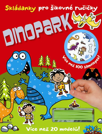 Dinopark - Skládanky pro šikovné ručičky