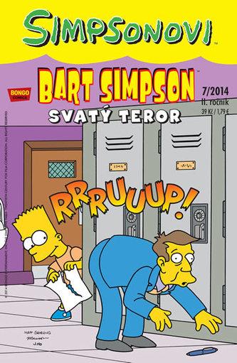 Bart Simpson Svatý teror