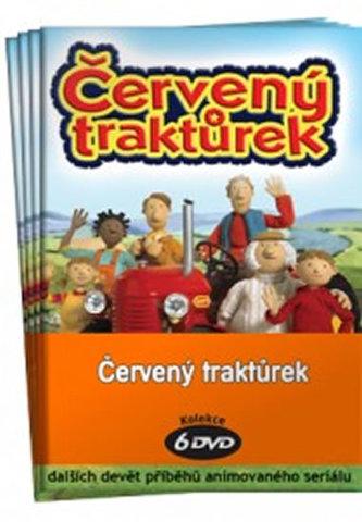 Červený traktůrek 1 - 6 / kolekce 6 DVD