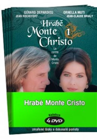 Hrabě Monte Christo 1 - 4 / kolekce 4 DVD - Alexandre Dumas