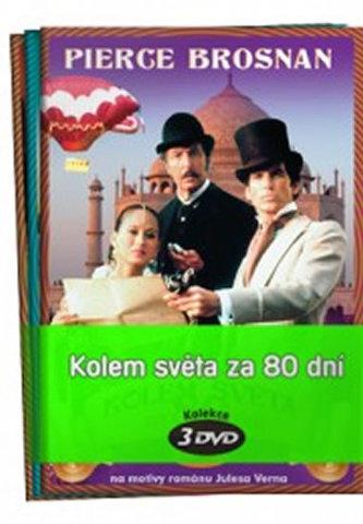 Kolem světa za 80 dní 1 - 3 / kolekce 3 DVD - neuveden