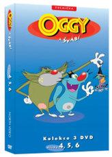Oggy a švábi 4 - 6 / kolekce 3 DVD