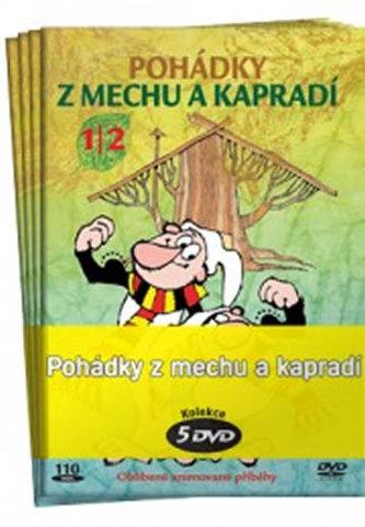 Pohádky z mechu a kapradí - kolekce 5 DVD - Smetana Zdeněk