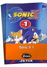 Sonic X 1. - kolekce 8 DVD