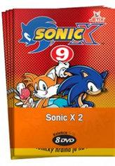 Sonic X 2. - kolekce 8 DVD