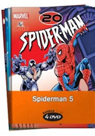 Spiderman 5. - kolekce 4 DVD