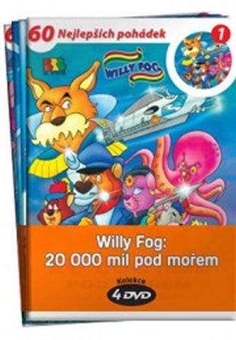 Willy Fog: 20.000 mil pod mořem - kolekce 4 DVD - Jules Verne