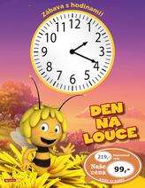 Včelka Mája Den na louce Zábava s hodinami