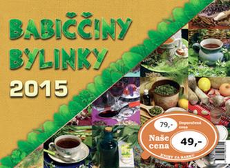 Babiččiny bylinky 2015 - stolní kalendář
