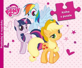 My Little Pony kniha s puzzle